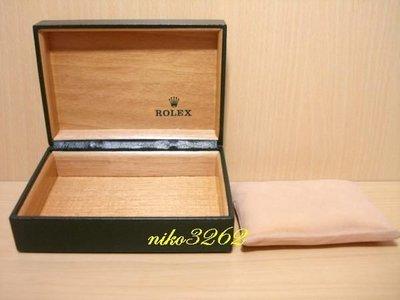 :: NiKo HoUsE ::【ROLEX 勞力士】原廠錶盒(綠色)