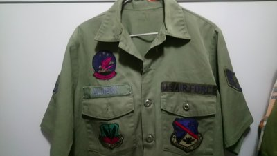 USAF air force 空軍 越戰 shirt army marine