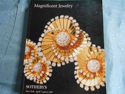 【宜蓁書坊】-藝術音樂-* Magnificent Jewelry *  著共1本(下標即結標) A5