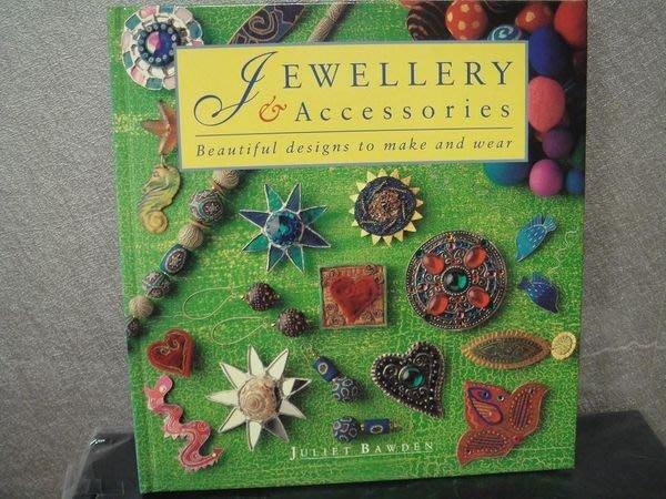 全新精裝書原文書【Jewellery & Accessaries】,飾品 DIY,低價起標無底價!免運費!