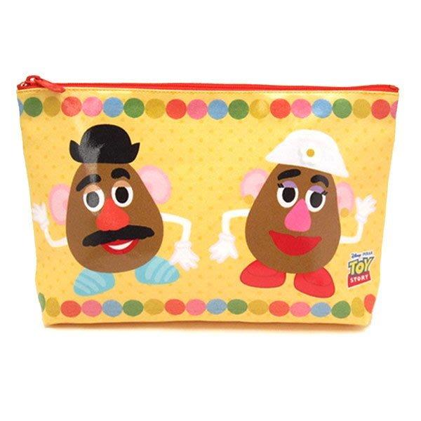 ♥心樂格格♥♫Disney 迪士尼 Toy Story[♦玩具總動員 蛋頭先生 包包 筆袋 收納袋 手拿包 ]♫全新日版
