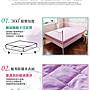 《天空藍》MIT台灣精製❤單人3.5x6.2尺》3M防潑水防蟎抗菌床包式保潔墊鋪棉加厚版