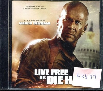 *真音樂* LIVE FREE OR DIE HARD 德版 二手 K5537  (清倉.下標賣2)