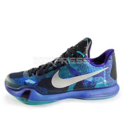 Nike Kobe X EP Overcome Peach Jam Emerald/Silver-Purple 紫黑/綠