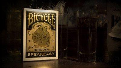 【USPCC撲克】Bicycle Speakeasy Deck Playing Cards 撲克 非法經營的酒吧