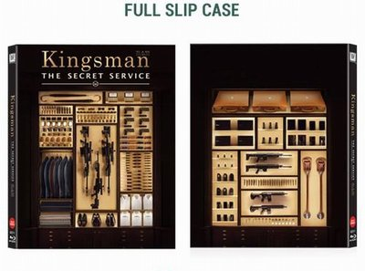 【BD藍光】金牌特務:獨家外紙盒限量鐵盒版Kingsman : The Secret Service(台灣繁中字幕)