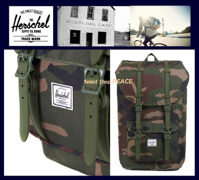 Herschel Supply Co.加拿大【現貨】後背包Little America Rubber