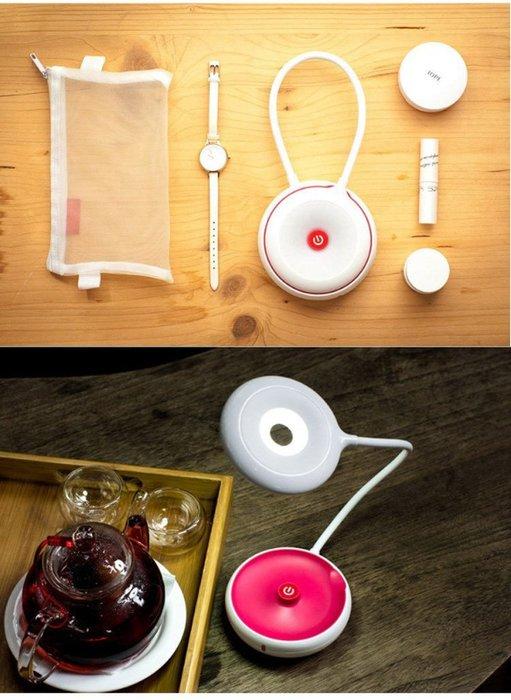 促銷品【悠悠隨心LED】 LED檯燈 便攜 自行車燈 露營燈/自行車/檯燈 (USB充電) 超強續航能力