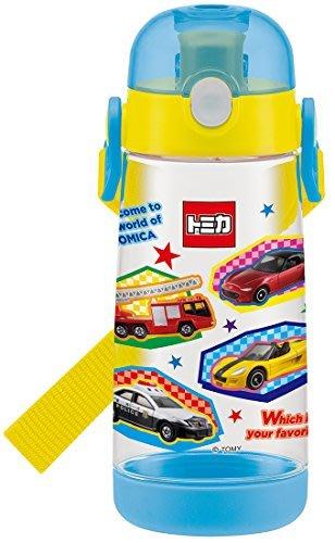 .☆.。.【SKATER】☆.。新幹線/交通車*透明吸管輕量型水壺~☆.。.:*