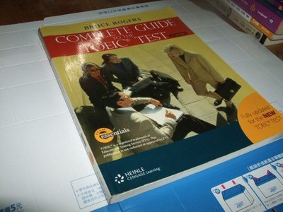 老殘二手書 COMPLETE GUIDE TO THE TOEIC TEST 9781424002962