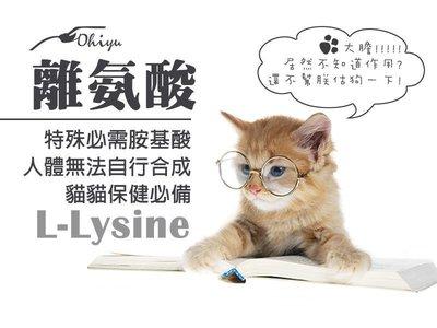 """優海鷗 L-LYSINE HCL 離胺酸 """"離氨酸顆粒型(250G)"""" 賴氨酸 賴胺酸 寵愛貓咪必選 另有牛磺酸"""