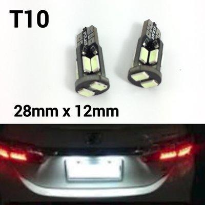 T10 解碼頂燈 汽車led 牌照燈 3014 led 門把手照明燈 示寬燈 一對2顆