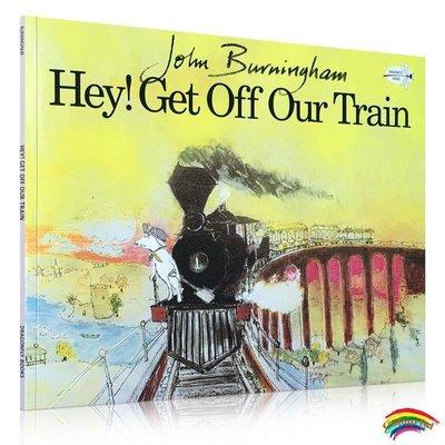 英文原版繪本 Hey! Get Off Our Train 嗨,下火車吧 吳敏蘭 繪本123 推薦書單 John Burningham