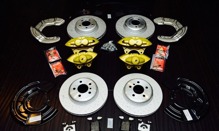 國豐動力 BMW F20 F30 F34 PERFORMANCE 黃色煞車組 前後全車份 含工資