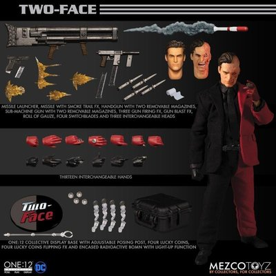 MEZCO One: 12 Collective DC 蝙蝠俠 雙面人 TWO-FACE