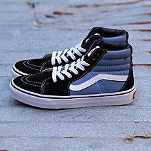 D-BOX  vans canvas sk8-hi 藍色 帆布鞋 板鞋 高筒 復古 運動休閒