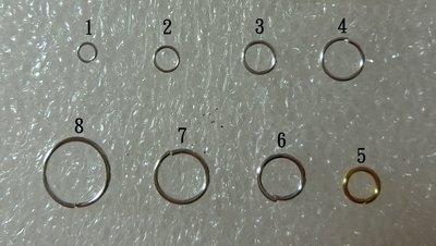"""""""飾品DIY"""" 耳環飾品 項鍊飾品 單環 銜接環 C型環"""