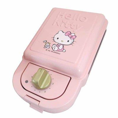 Hello Kitty 輕食主張 單片熱壓三明治機 鬆餅機 吾人智販 gomy 4165 e-shop 三麗鷗 小家電