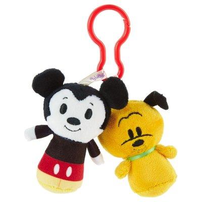 預購 美國 Hallmark Disney Mouse and Pluto 米奇 布魯托 包包掛飾 鑰匙圈 娃娃 吊飾