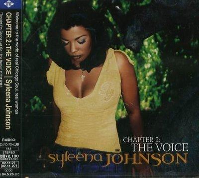 K - Syleena Johnson - Chapter 2: The Voice - 日版 +1BONUS  NEW