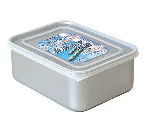 § Color House § 日本AKAO 鋁製 急速冷凍 冷藏 保鮮盒 3.2L
