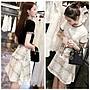 *Angel  Dance*兩件式套裝(2色)@韓國 小香風 氣質 優雅 棉質+粗花呢 法式風格 格子 套裝@現貨+預購