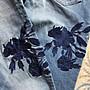 全新品, UK12, M&S 英國瑪莎百貨, RELAXED SLIM, 刺繡中腰休閒款牛仔單寧褲,