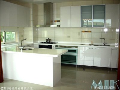 MIK廚具 最低價格1↗擁有百萬廚房↖中島吧台鑽石級火山岩人造石防蟑臭氣系統結晶鋼烤