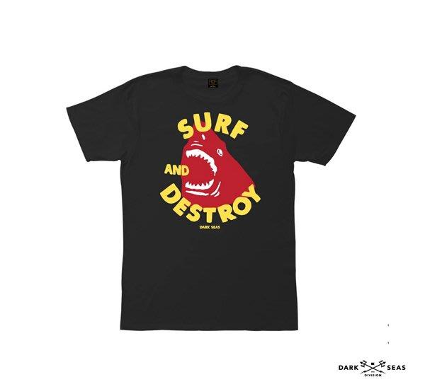 GOODFORIT / 美國品牌Dark Seas Punker Premium大白鯊形象短袖上衣