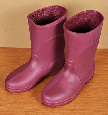 【新和小舖】久大牌 超輕型女用雨鞋 ﹝雨靴﹞ ﹝防水鞋﹞ 紅色(2種顏色) 台灣製造 特價340元