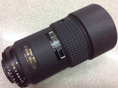 [保固一年] [高雄明豐]  Nikon NIKKOR AF 180mm F2.8 ED 便宜賣
