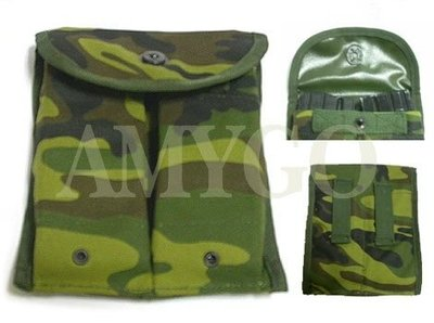 【ARMYGO】國軍制式65步槍彈匣袋 (迷彩)