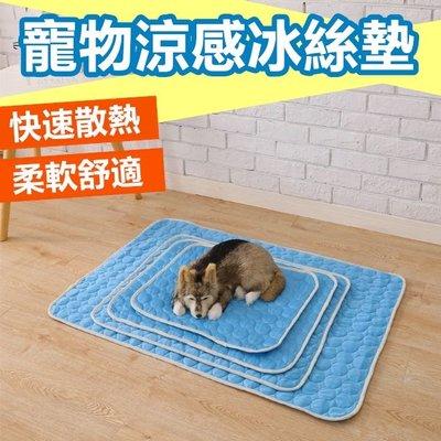 [L號] 寵物涼感平鋪墊 寵物睡墊 寵物涼墊 狗狗涼墊 涼感 降溫 寵物用品 狗墊 貓墊【RS953】