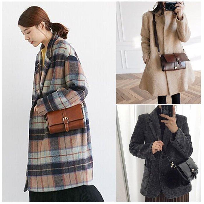 韓國連線 復古皮革斜背包 肩背包 側背包 手拿包  後背包 水餃包 錢包 托特包 書包 媽媽包 手提包 女生包包  女包