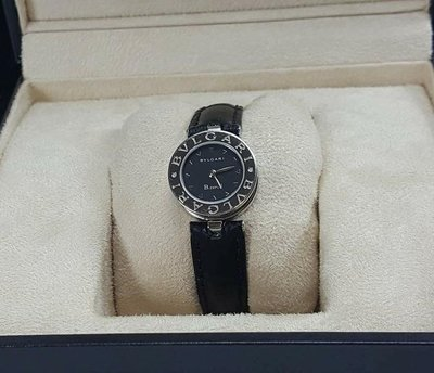 BVLGARI 寶格麗 B.zero1系列 BZ22S 黑色面盤腕錶