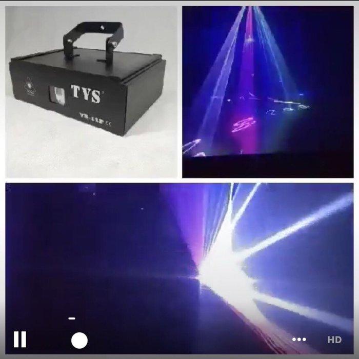 1W 3D全彩雷射效果燈