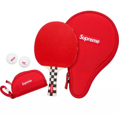 【紐約范特西】預購 SUPREME FW19 Butterfly Table Tennis Racketset 桌球拍組