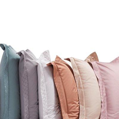 淘趣雜貨店/100支匹馬棉枕套純棉一對 成人大號酒店全棉單人貢緞純色枕頭套(型號不同價格不同)