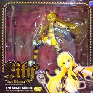 日本正版 Phat! Lily from anim.o.v.e 1/8 公仔 模型 日本代購