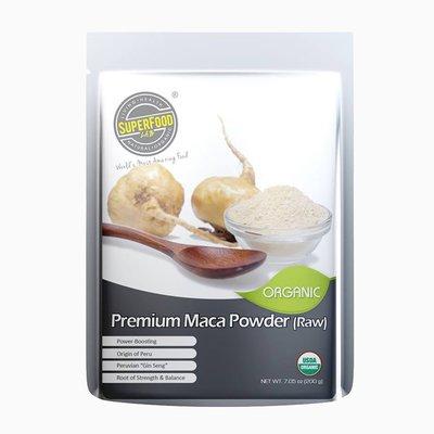 有機頂級秘魯瑪卡粉 Organic Premium Maca Powder (Raw) 200g - 抗疲勞
