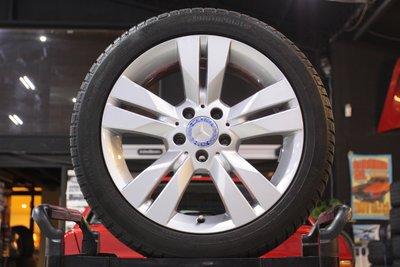 【 成佳汽車 】BENZ 賓士 原廠17吋鋁圈含胎 極新 W204 S204 W205 W212 W213 W207