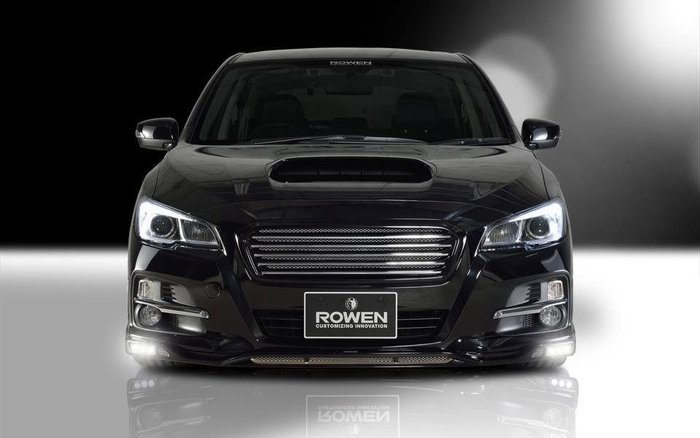 Subaru 速霸陸 Levorg VM4 日本 Rowen 碳纖維 Carbon 尾翼 大包 擾流