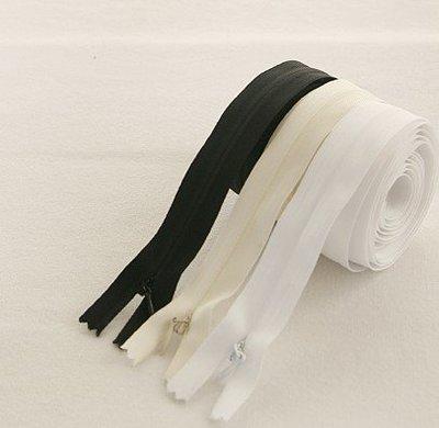 戀物星球 耐用結實 隱形拉鏈diy靠墊抱枕被套白色長暗鏈隱形拉鎖服裝輔料