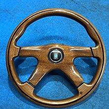【比比昂.日本改裝 方向盤】♪ ナルディ ウッドハンドル 36パイ ランクル80ボス付き ♪