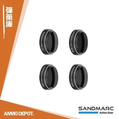 【AMMO DEPOT.】 SANDMARC DJI Mavic Pro 專用 ND 減光鏡 濾鏡組 SM-235