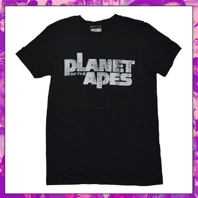 【三分之二】PLANET OF THE APES Distress Logo  //復古潮流/MOVIE/Tee