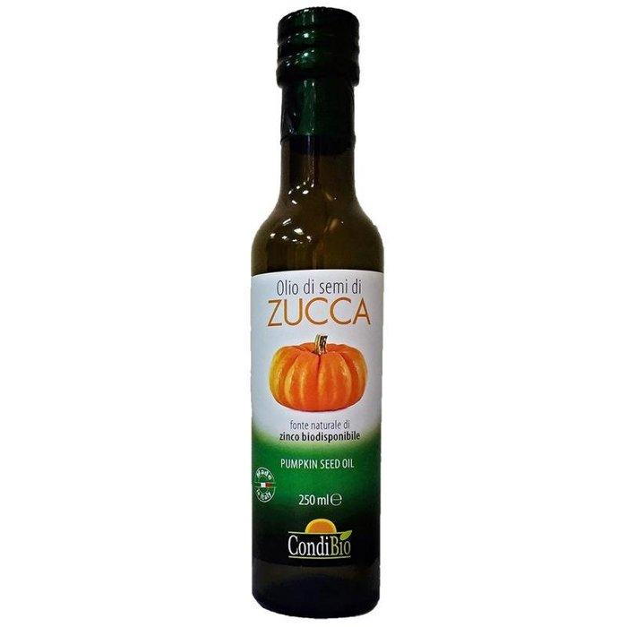 義大利原瓶原裝進口 康帝CondiBio特級初榨冷壓南瓜籽油250ml  (量大另議)