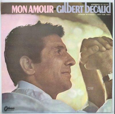 黑膠唱片 Gilbert Becaud - Mon Amour - 1967 Odeon