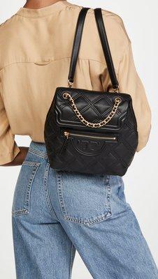 【全新正貨私家珍藏】Tory Burch Fleming Soft Mini Backpack 真皮雙肩背包