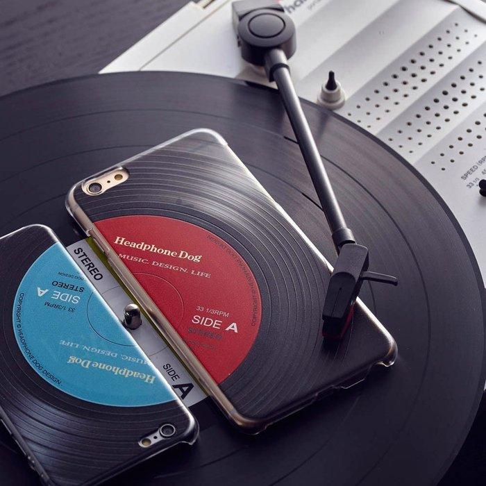 第二代-立體唱片紋路 四邊防摔手機殼/保護殼 (iPhone,iX)